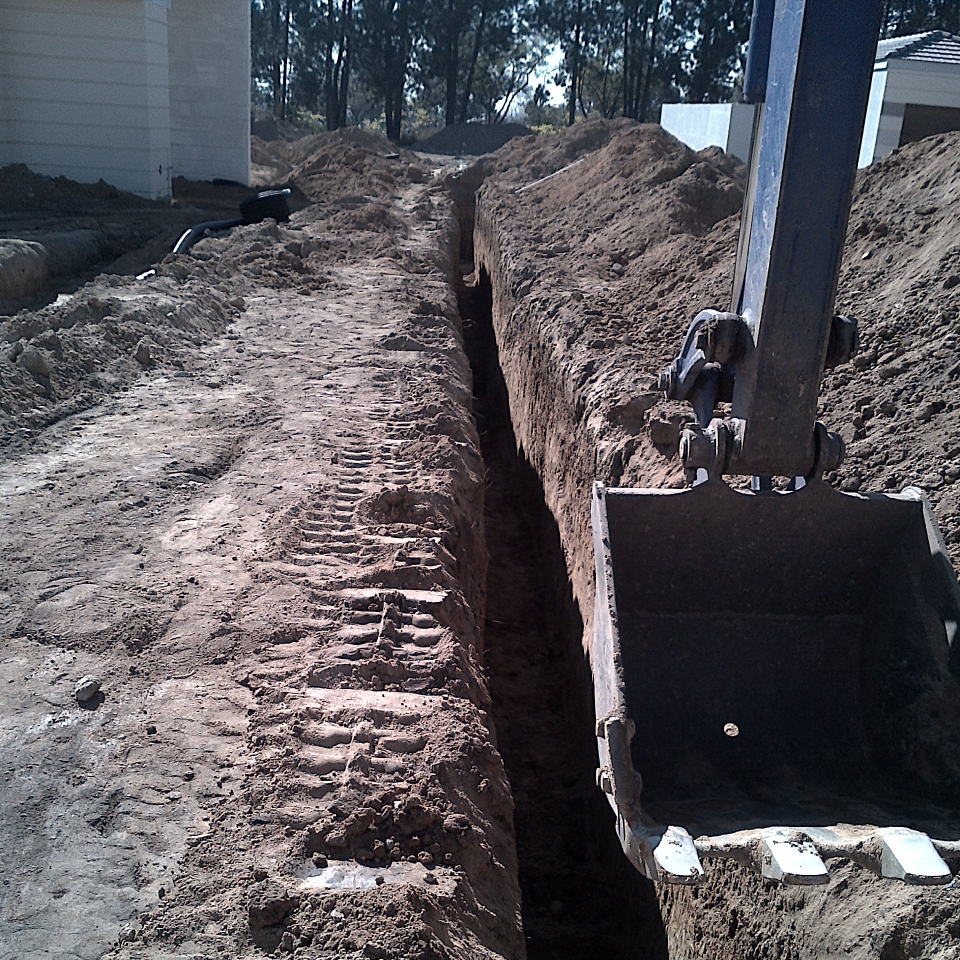 SW trench